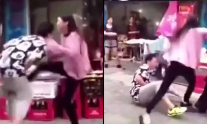 ISABEL: Asian girls kicking testicles