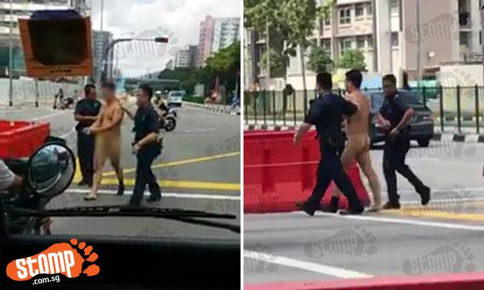 Naked Man Arrested After Causing Ruckus Inside Bus At -2720