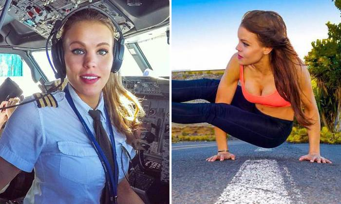 Pretty Swedish Pilot Wins Fans With Her Exciting Selfies And Hot Yoga Moves