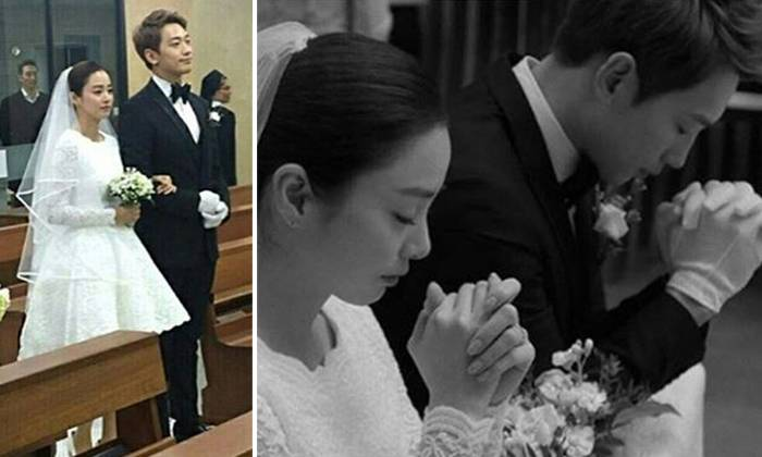 Rain And Kim Tae Hee Tie Knot In Modest Church Wedding After Secret