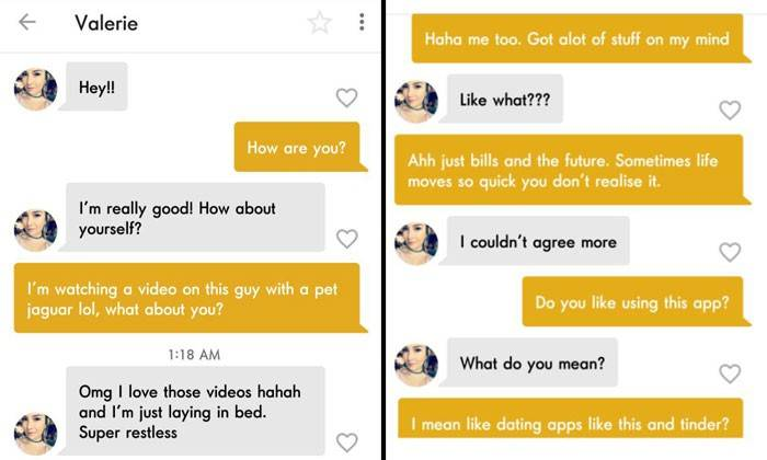 ROXANNE: Dating chat up lines