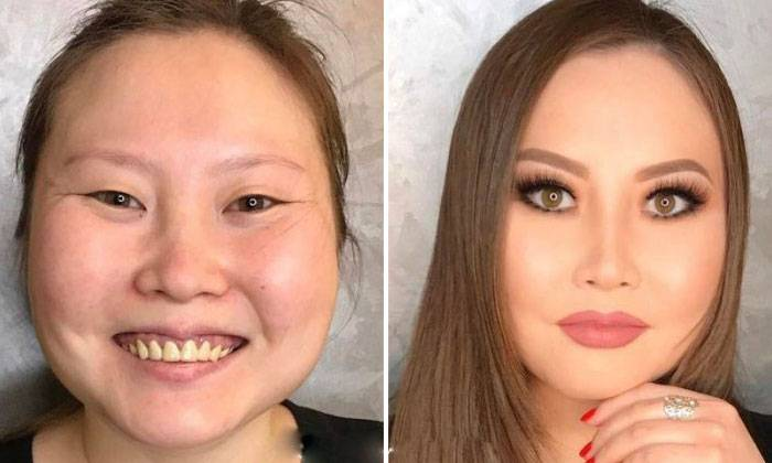 these amazing makeup transformations will give everyone trust issues