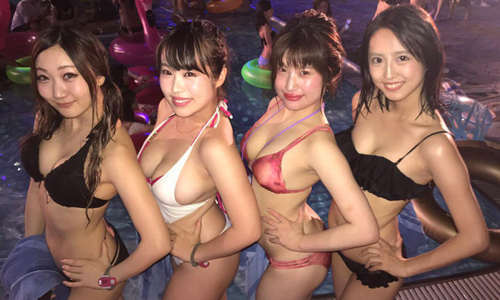 Bikini Party And The Winner Is