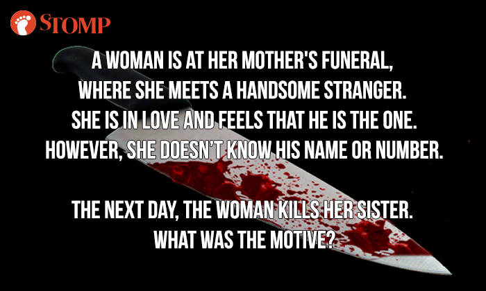 If you can answer this riddle, you might be a psychopath - Stomp