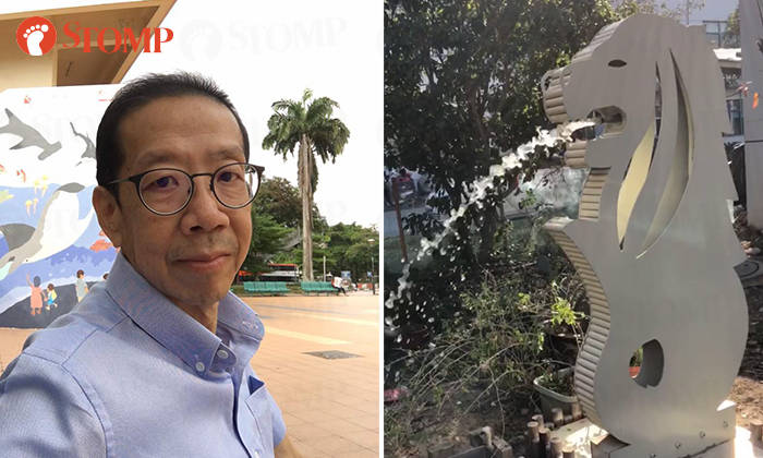 Stompers Late Father Built A Merlion Statue In China To Express His Love For Singapore