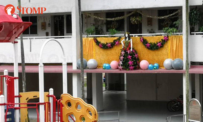 Clementi resident asked to scale down christmas decorations and