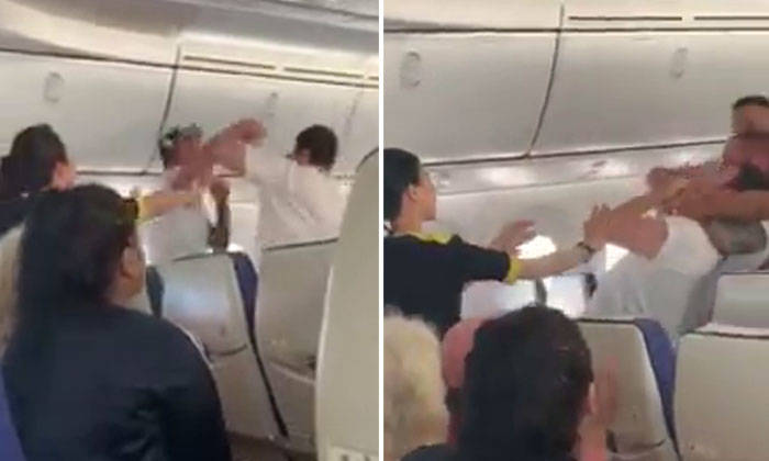 Worldwide flight diverted to Sydney after punch-up in the aisle