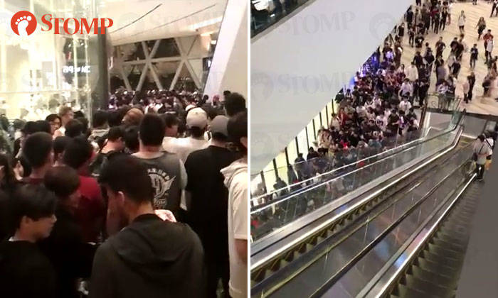 at Jewel Changi Airport