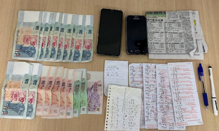 kong ming lantern singapore illegal betting