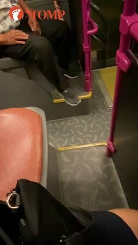 Rubbing In Bus