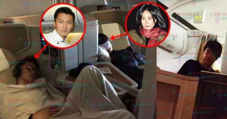 Photo Of Faye Wong Kissing Nicholas Tse At Airport Takes