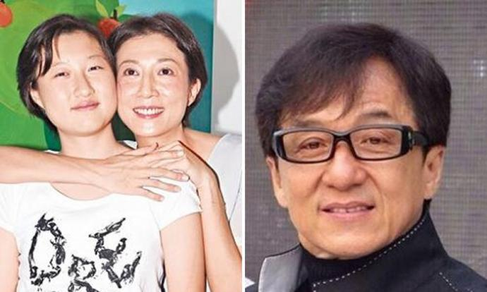 Jackie Chan cried over love child with ex-mistress Elaine ...