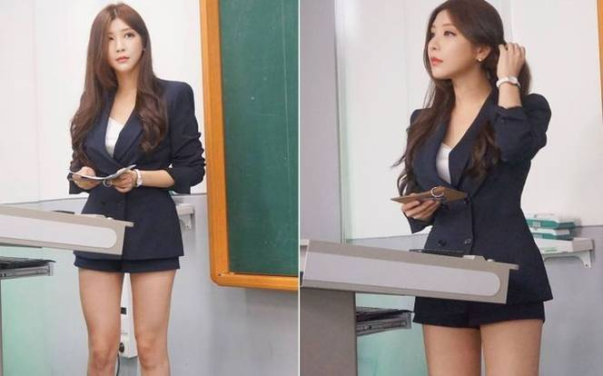 You Wouldnt Miss A Day Of School With This Korean Beauty As Your Lecturer - Stomp-4940