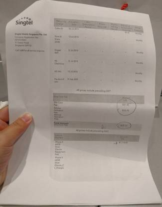 Singtel to take disciplinary action against retailer after