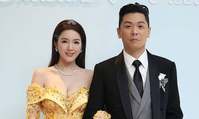 Christine Kuo transforms into princess for fairytale wedding -- this time in Hong Kong