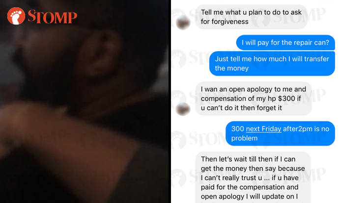 Passenger in dispute with cabby denies hitting him, gives his side of the story