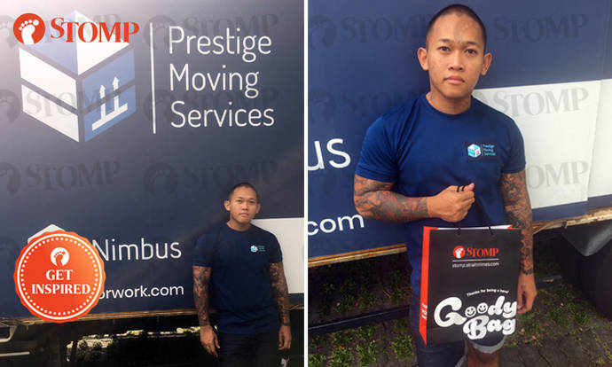 Mover who returned $50k cash that customer forget about: 'My tattoos do not determine my actions'