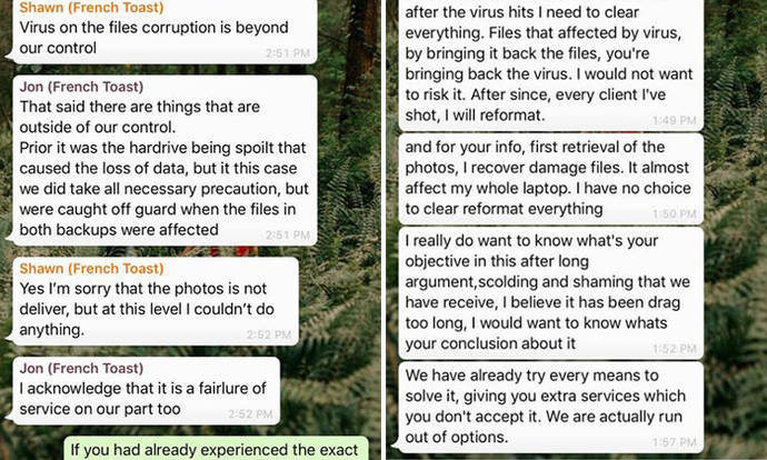 Photography company who lost couple's wedding photos apologises, working on 'fuller explanation'