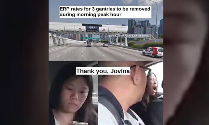 Internet thanks Gojek passenger in viral video after 3 ERP gantries switched off
