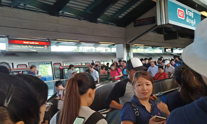 Stomper still on her way to work 2 hours after signalling fault occurs along North-South line