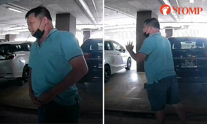 Smoker unzips pants to pee in front of woman's car, says it's 'urgent' when caught red-handed