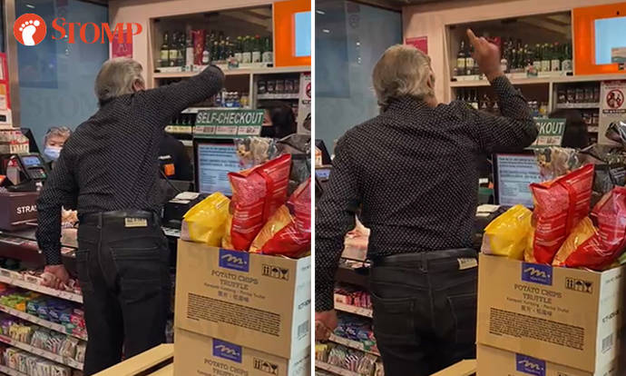 Man scolds staff for 'spoiling the business of 7-Eleven', police investigating public nuisance