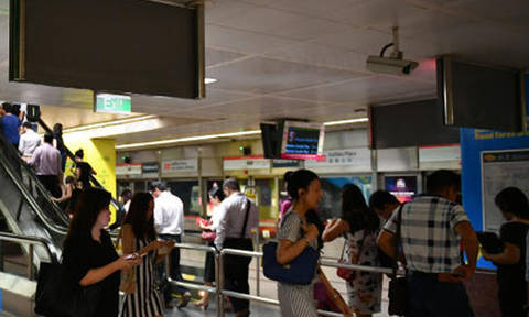 Man assaulted SMRT employee after being told not to eat and drink on station platform