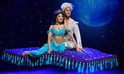 Disney's Aladdin musical takes you into a whole new world of glitz and glamour