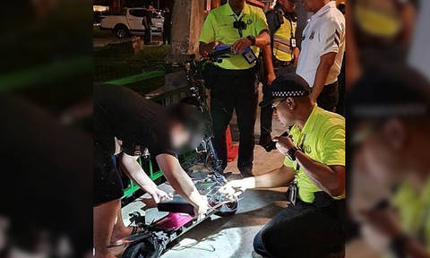Man allegedly knocked into LTA officers after they tried to stop him from riding e-scooter