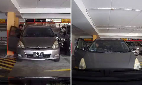 Car rolls away and hits vehicle in carpark after youth fails to put it in parking gear