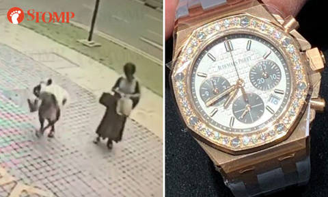 Owner appealing to ladies who picked up her $40k watch outside OrangeTee Building to return it