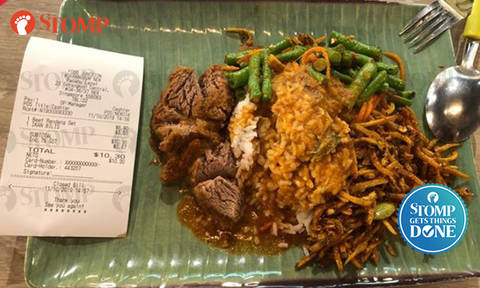 Stomper gets $20 vouchers after Food Junction stall accidentally charges her $3.50 for ikan bilis