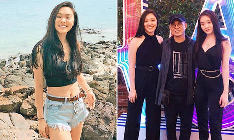 Jet Li's daughter, who is studying in Harvard, shows that she's both beauty and brains