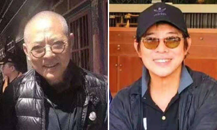 Netizens were shocked in 2018 when a photo of a frail-looking Jet Li surfaced (left). A recent photo showed the actor in a good mood as he smiled broadly for the camera. Photos: Weibo