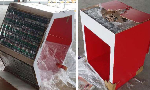 ICA foils 3 bids to smuggle over 4,000 cartons of contraband cigarettes at Jurong Port