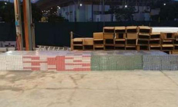 More than 3,000 cartons of contraband cigarettes seized by ICA officers at Jurong Port