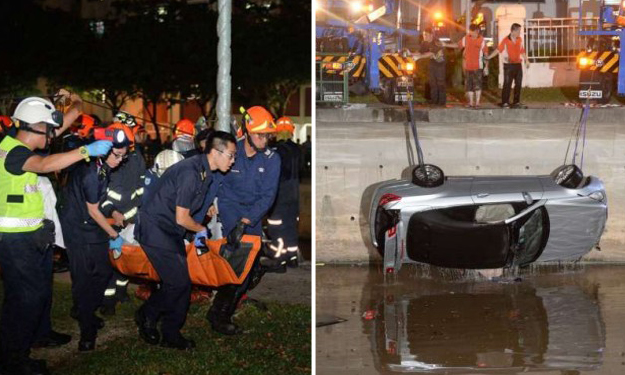 Two dead after car plunges into Alexandra Canal: Mother and daughter were shopping before accident