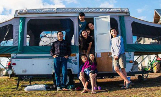 S'porean couple and 6 kids go on 6-month US road trip -- without staying in any hotels or motels