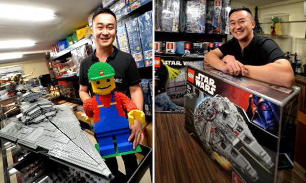 S'pore man's special Lego set goes from $899 to $8,000