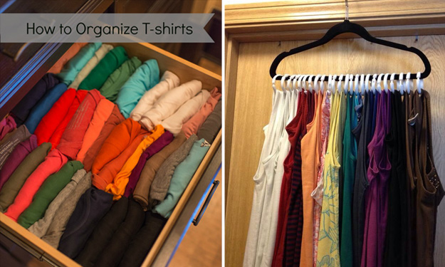 Messy wardrobe? These amazing hacks will help you