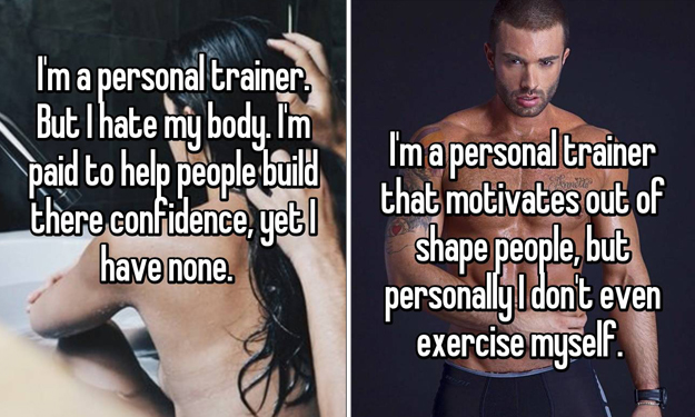 Here's what your personal trainers are REALLY thinking while on the job