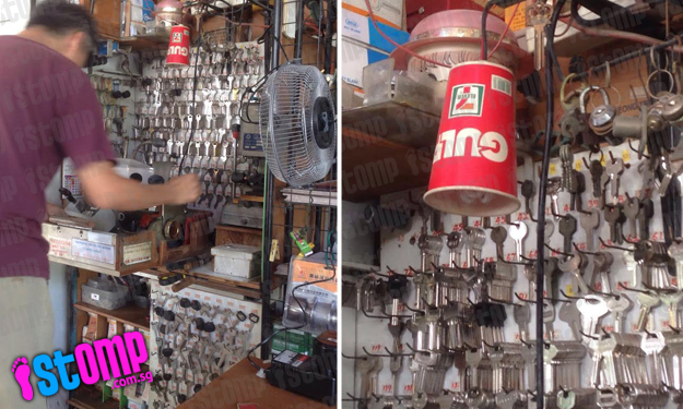 Woman filled with nostalgia as she spots key duplicating shop at Whampoa