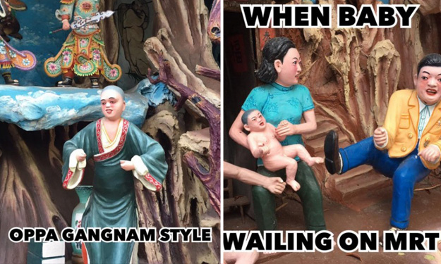Hilarious memes of Haw Par Villa statues put 79-year-old park back in spotlight