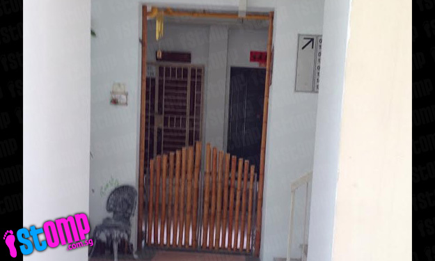Anchorvale residents asked by Town Council to remove 'unauthorised structure' outside 2 flats after Stomp report