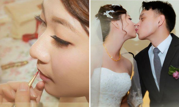 Bridal studio behind viral wedding photos shares 'better photos' on Facebook