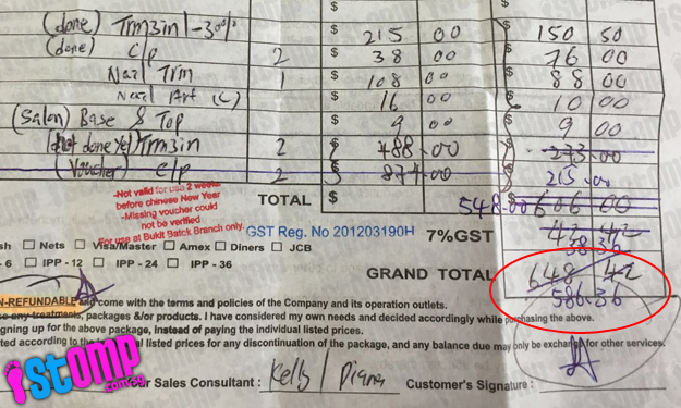 Another customer shocked by bill at nail salon -- and it's a whopping $586.36 this time