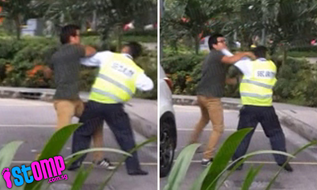 Driver rains punches on security guard after being told to leave Harbourfront Centre pick-up point