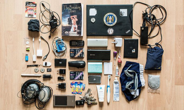 All shapes and sizes: Here's what you can find inside a hacker's backpack