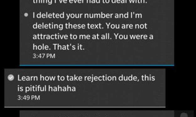 nice guy turns nasty after girl refuses to send him nudes